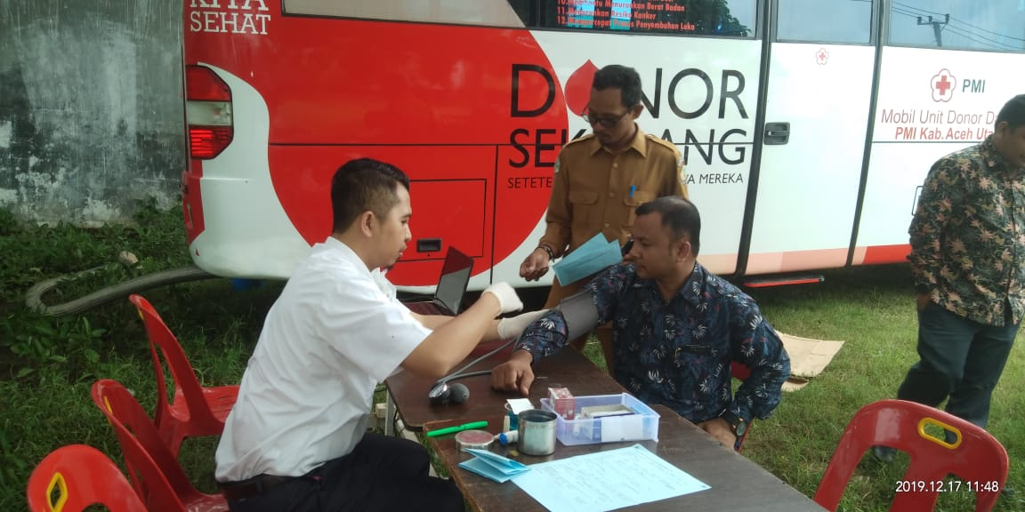 Anggota Dpr Aceh Ini Donor Darah Di Banda Baro Aceh Utara Barometernews Id