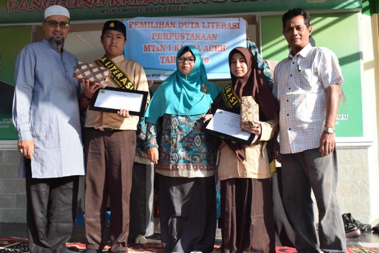 Mtsn Model Kota Banda Aceh Pilih Duta Literasi Barometernews Id